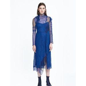 Phillip Lim 3.1 Electric Blue Dress